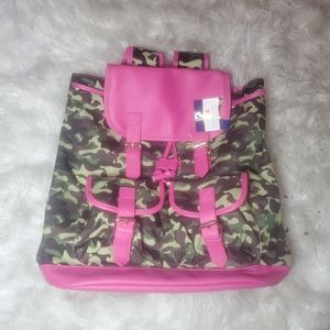 Simply southern camo pink backpack